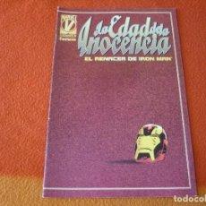 Cómics: IRON MAN LA EDAD DE LA INOCENCIA ( KAVANAGH ) ¡BUEN ESTADO! MARVEL FORUM EL RENACER. Lote 223441536