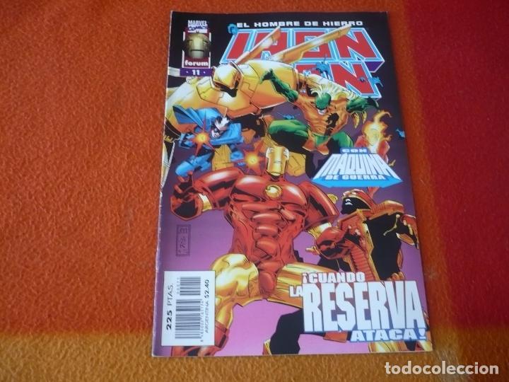 IRON MAN VOL. III 3 Nº 11 ( KAVANAGH ) ¡BUEN ESTADO! MARVEL FORUM EL HOMBRE DE HIERRO (Tebeos y Comics - Forum - Iron Man)