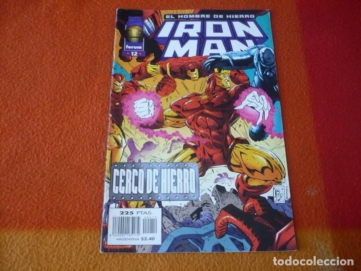 IRON MAN VOL. III 3 Nº 12 ¡BUEN ESTADO! MARVEL FORUM EL HOMBRE DE HIERRO (Tebeos y Comics - Forum - Iron Man)