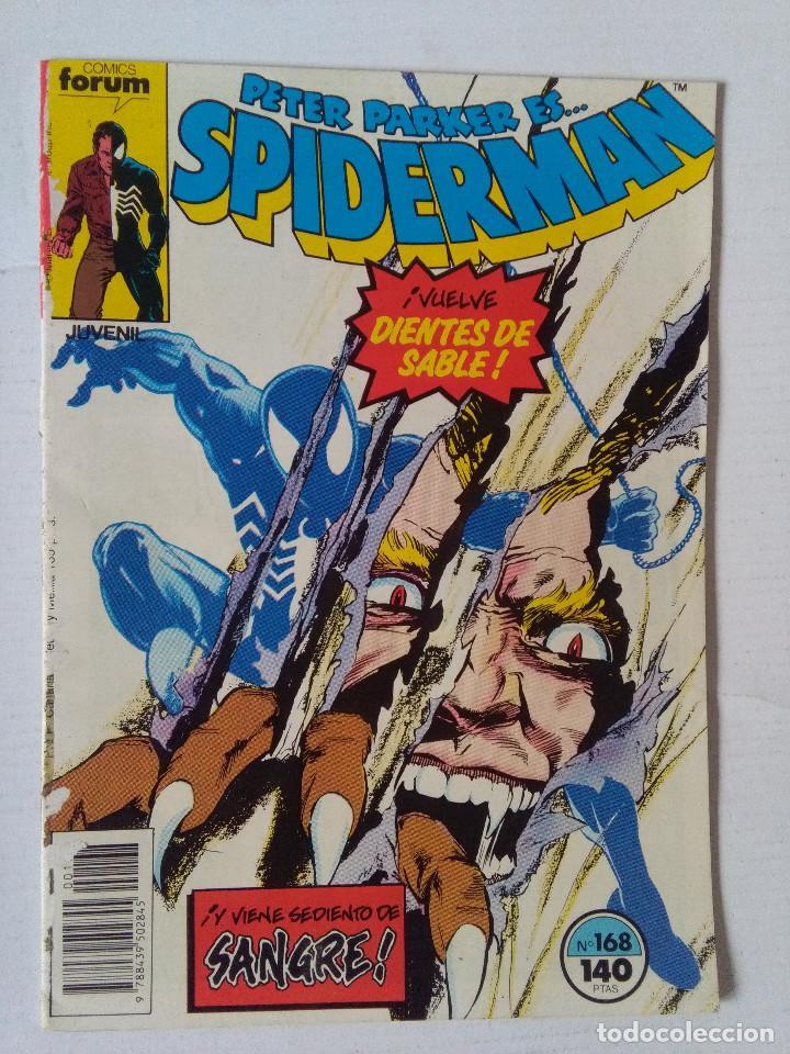 SPIDERMAN 168 PRIMERA EDICION-FORUM (Tebeos y Comics - Forum - Spiderman)