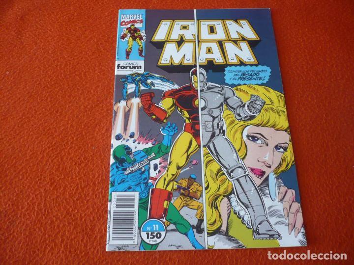 IRON MAN VOL. 2 Nº 11 ( MICHELINIE ) ¡BUEN ESTADO! MARVEL FORUM (Tebeos y Comics - Forum - Iron Man)