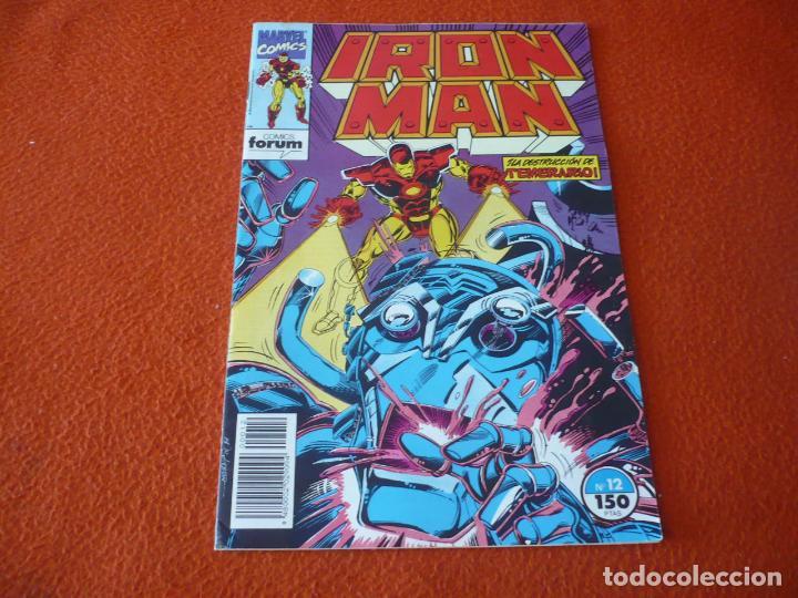 IRON MAN VOL. 2 Nº 12 ( MICHELINIE PAUL SMITH ) ¡BUEN ESTADO! MARVEL FORUM (Tebeos y Comics - Forum - Iron Man)
