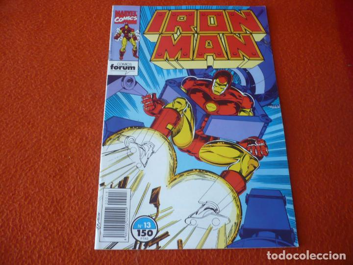 Cómics: IRON MAN VOL. 2 Nº 13 ( MICHELINIE ) ¡BUEN ESTADO! MARVEL FORUM - Foto 1 - 223481686