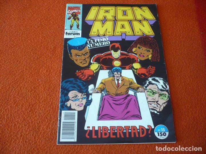 IRON MAN VOL. 2 Nº 15 ULTIMO NUMERO ( MICHELINIE ) ¡BUEN ESTADO! MARVEL FORUM (Tebeos y Comics - Forum - Iron Man)