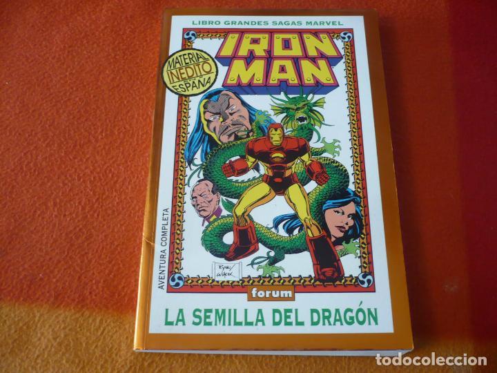 IRON MAN LA SEMILLA DEL DRAGON ( BYRNE ) ¡BUEN ESTADO! FORUM GRANDES SAGAS MARVEL 4 (Tebeos y Comics - Forum - Iron Man)