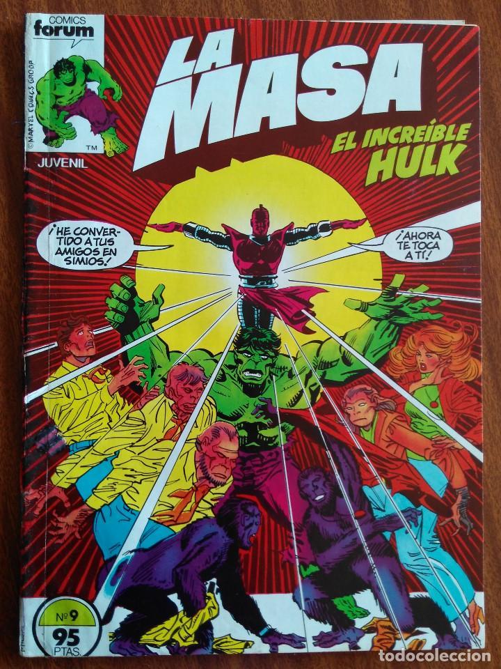 LA MASA Nº 9 - COMICS FORUM (Tebeos y Comics - Forum - Hulk)