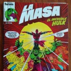 Cómics: LA MASA Nº 9 - COMICS FORUM. Lote 223487373