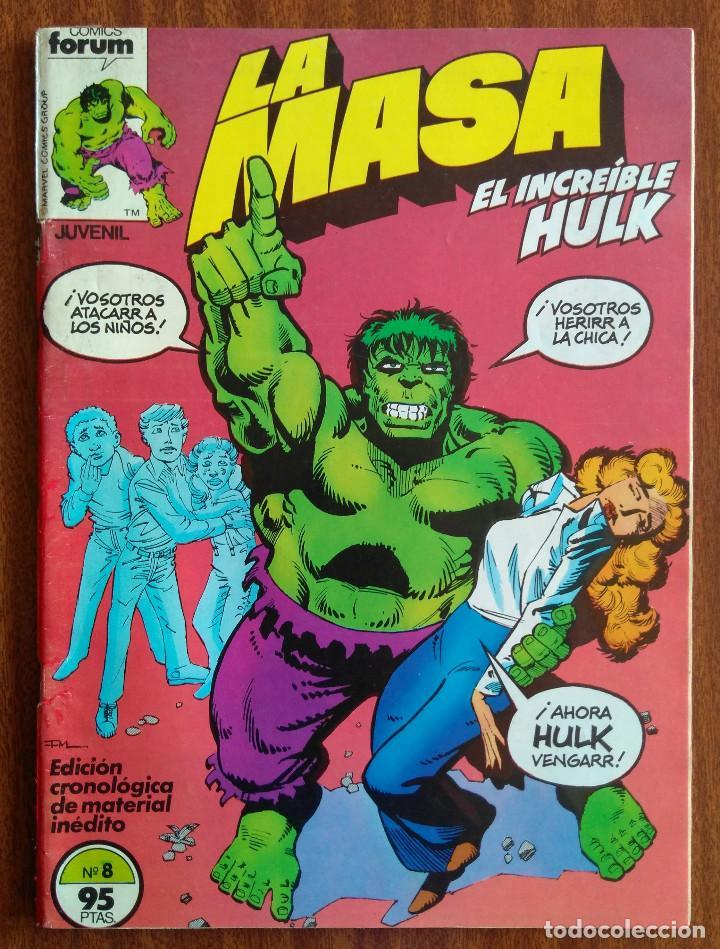 LA MASA Nº 8- COMICS FORUM (Tebeos y Comics - Forum - Hulk)