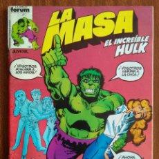 Cómics: LA MASA Nº 8- COMICS FORUM. Lote 223487922