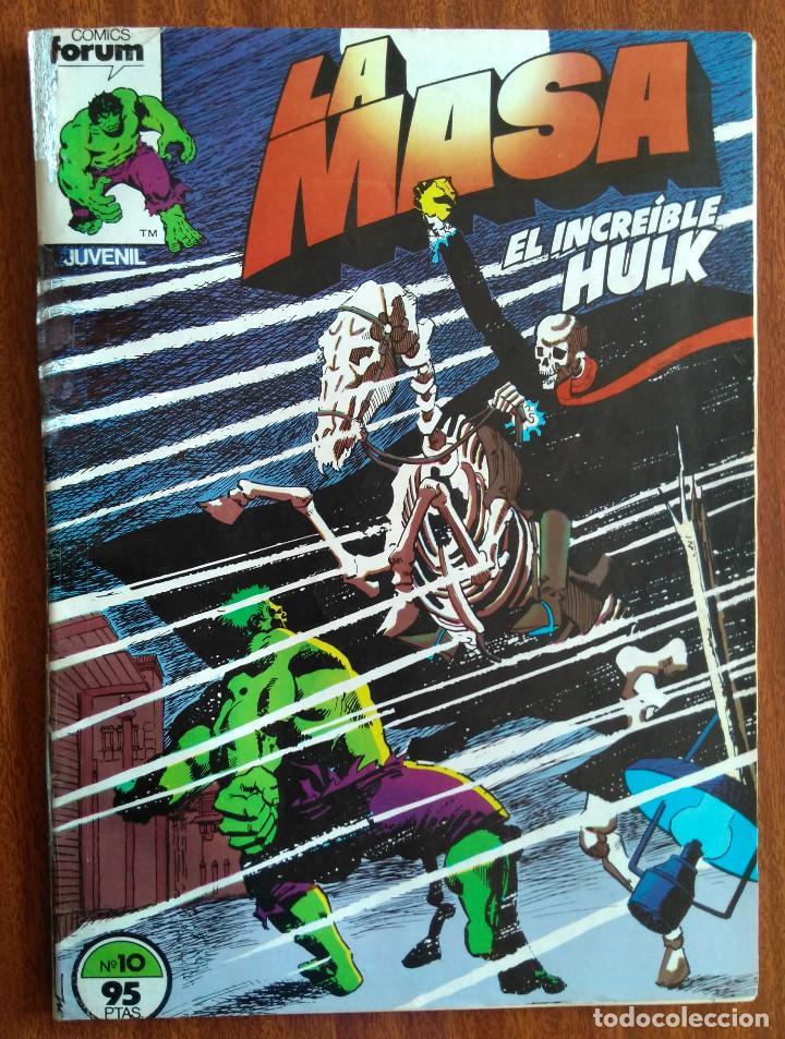 LA MASA Nº 10 - COMICS FORUM (Tebeos y Comics - Forum - Hulk)