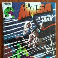 Cómics: LA MASA Nº 10 - COMICS FORUM. Lote 223488103