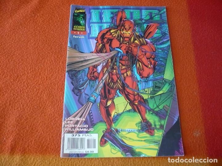 IRON MAN HEROES REBORN Nº 1 ( LEE ) ¡BUEN ESTADO! FORUM MARVEL (Tebeos y Comics - Forum - Iron Man)