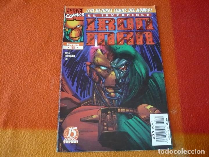 IRON MAN HEROES REBORN Nº 11 ( LOEB ) ¡BUEN ESTADO! FORUM MARVEL (Tebeos y Comics - Forum - Iron Man)