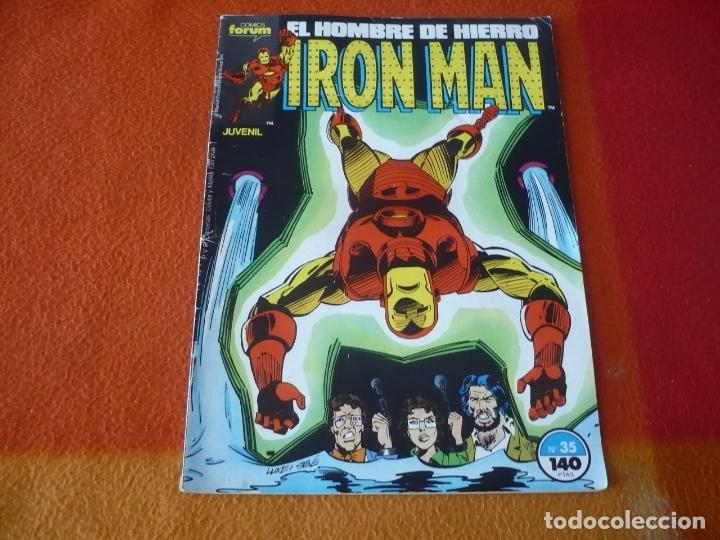 IRON MAN VOL. 1 Nº 35 ( BOB HARRAS ) FORUM MARVEL HOMBRE DE HIERRO (Tebeos y Comics - Forum - Iron Man)