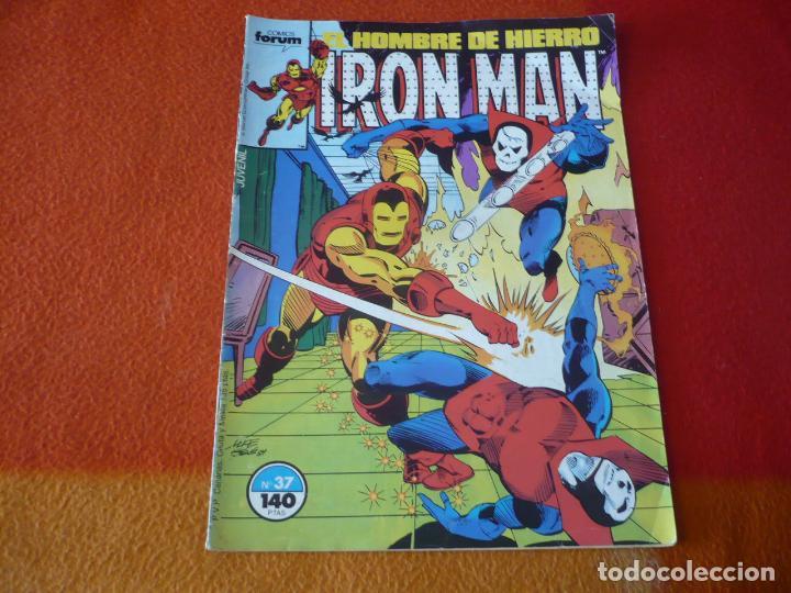 IRON MAN VOL. 1 Nº 37 FORUM MARVEL HOMBRE DE HIERRO (Tebeos y Comics - Forum - Iron Man)