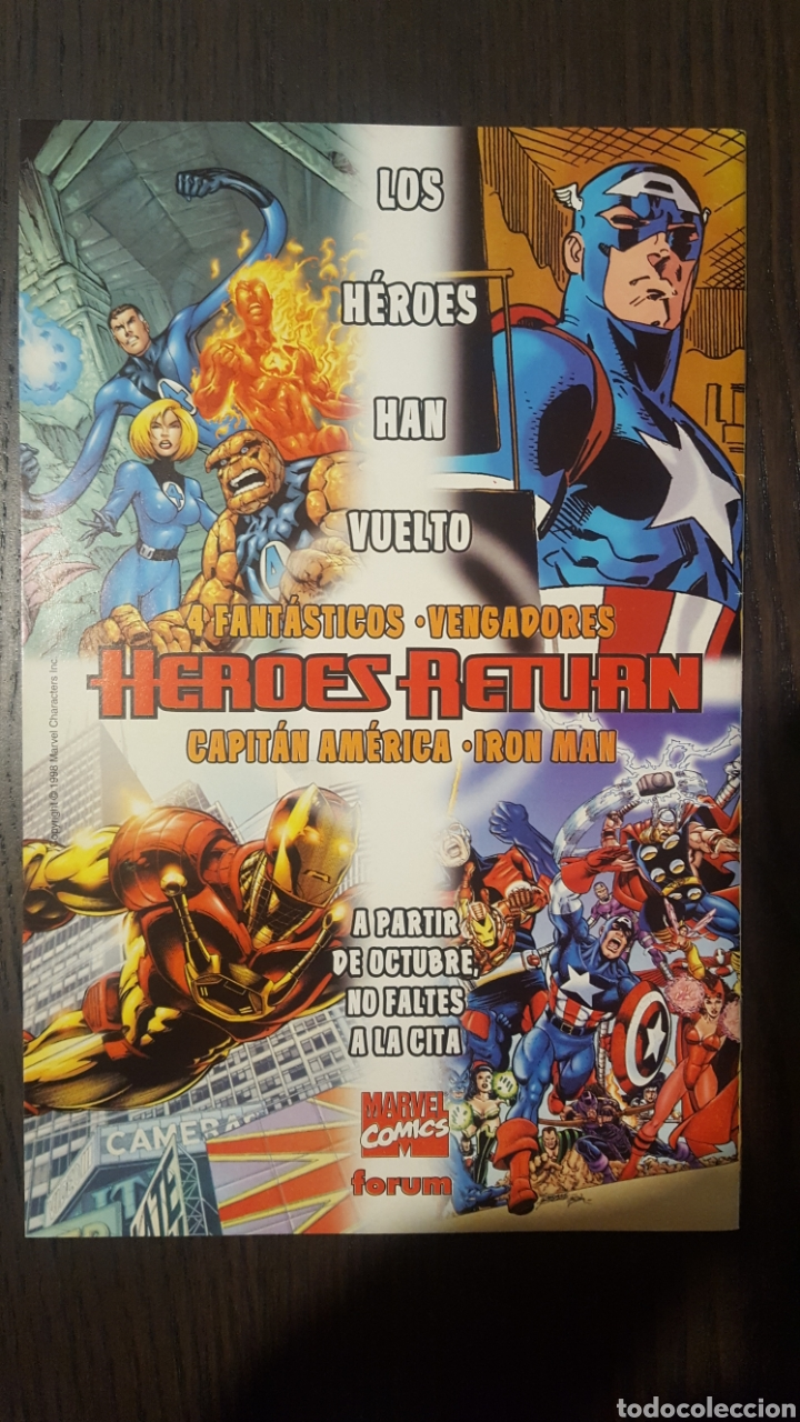 Cómics: Comic - ESTELA PLATEADA (Silver Surfer) NUMERO 14 (1997-1999) - FORUM - Foto 2 - 223588495