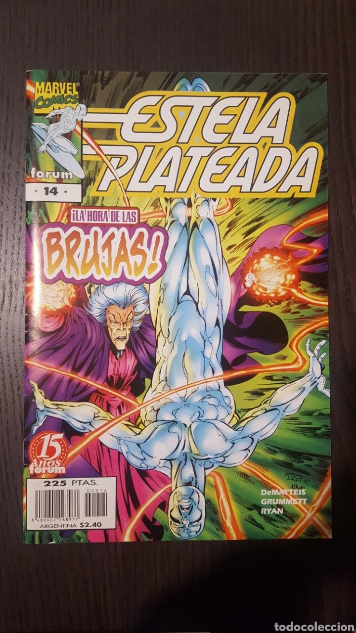 COMIC - ESTELA PLATEADA (SILVER SURFER) NUMERO 14 (1997-1999) - FORUM (Tebeos y Comics - Forum - Silver Surfer)