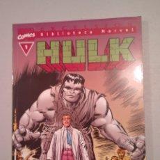 Comics: BIBLIOTECA MARVEL HULK N° 1. Lote 223634166