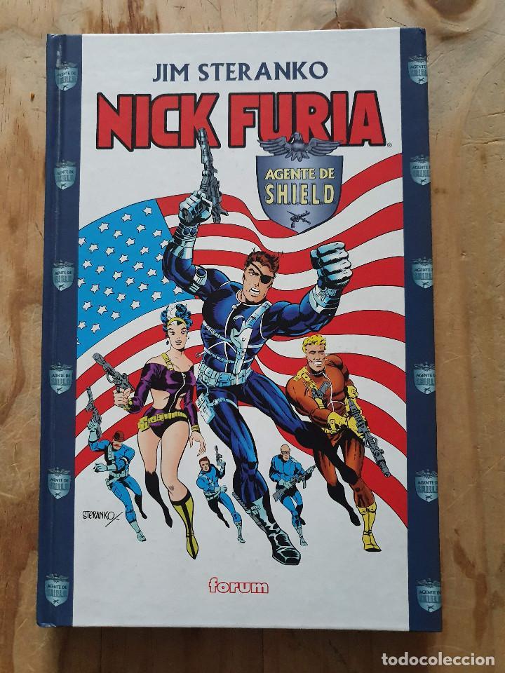 NICK FURIA AGENTE DE SHIELD (FORUM) - POR JIM STERANKO - 2000 (Tebeos y Comics - Forum - Furia)