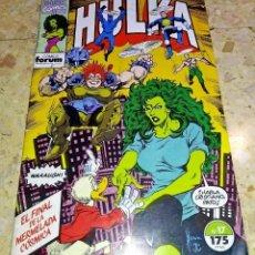 Cómics: COMIC FORUM AÑOS 90 MARVEL HULKA - NUMERO 17 - MUY BUEN ESTADO. Lote 223651026