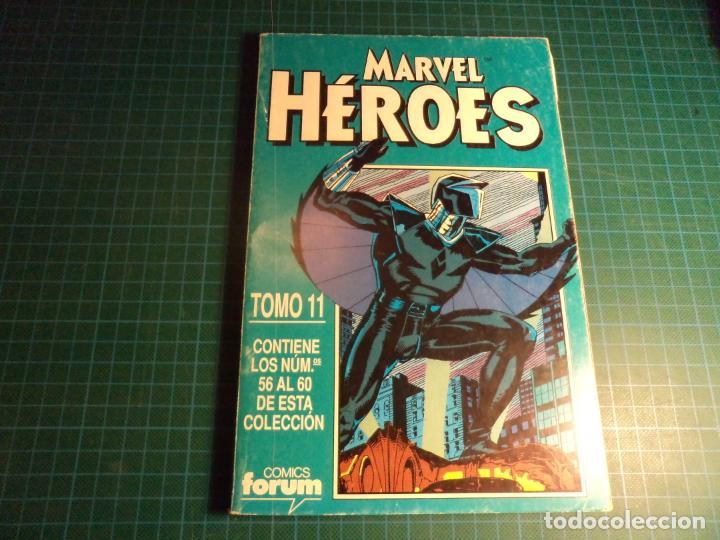 MARVEL HEROES. RETAPADO. CONTIENE LOS NUMEROS 56 AL 60. (S3) (Tebeos y Comics - Forum - Retapados)