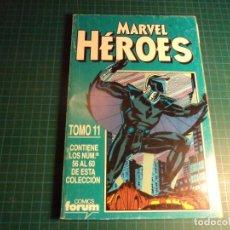 Cómics: MARVEL HEROES. RETAPADO. CONTIENE LOS NUMEROS 56 AL 60. (S3). Lote 223657863