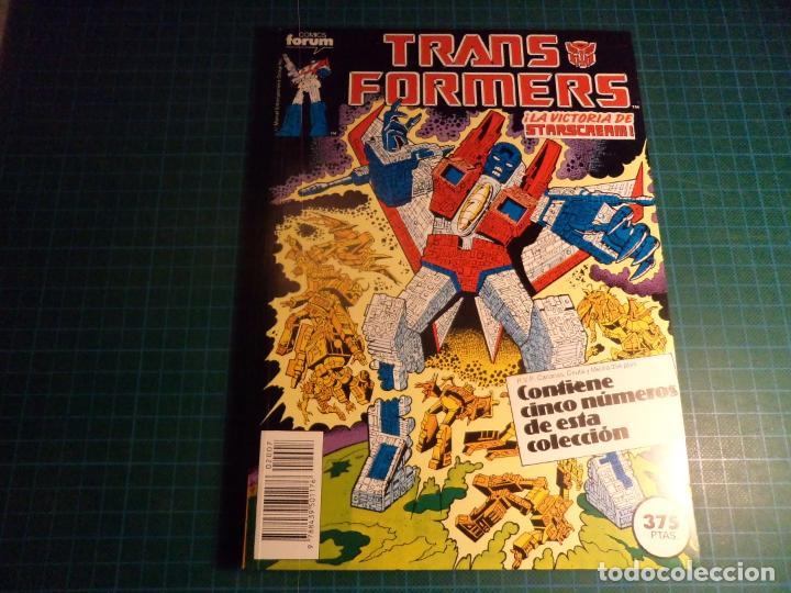 TRANSFORMERS. RETAPADO. CONTIENE LOS NUMEROS 46 AL 50. (S3) (Tebeos y Comics - Forum - Retapados)