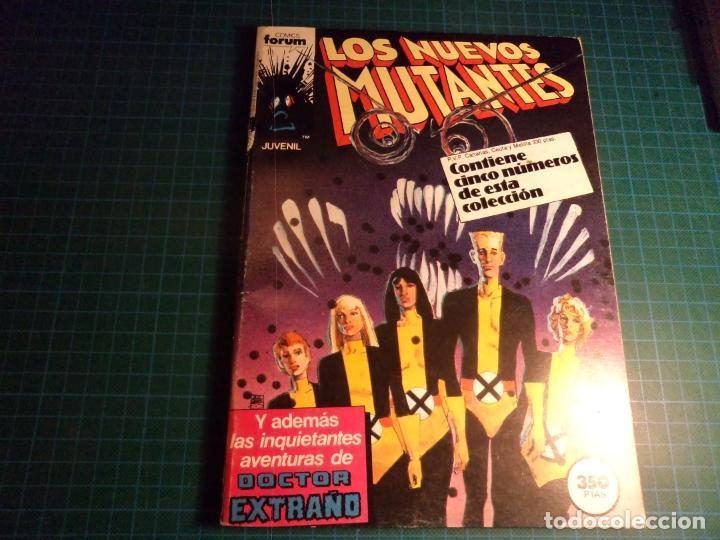 LOS NUEVOS MUTANTES. RETAPADO. CONTIENE LOS NUMEROS 21 AL 25. (S3) (Tebeos y Comics - Forum - Retapados)