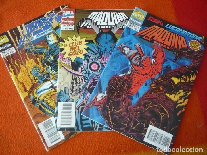 MAQUINA DE GUERRA NºS 10, 11 Y 12 ( KAMINSKI ) ¡BUEN ESTADO! FORUM MARVEL IRON MAN (Tebeos y Comics - Forum - Iron Man)