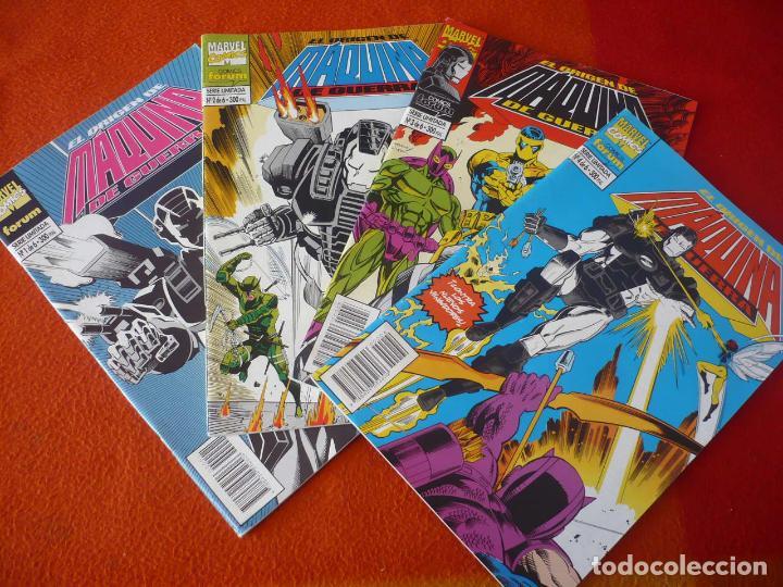 EL ORIGEN DE MAQUINA DE GUERRA NºS 1, 2, 3 Y 4 ( KAMINSKI ) ¡BUEN ESTADO! FORUM MARVEL IRON MAN (Tebeos y Comics - Forum - Iron Man)