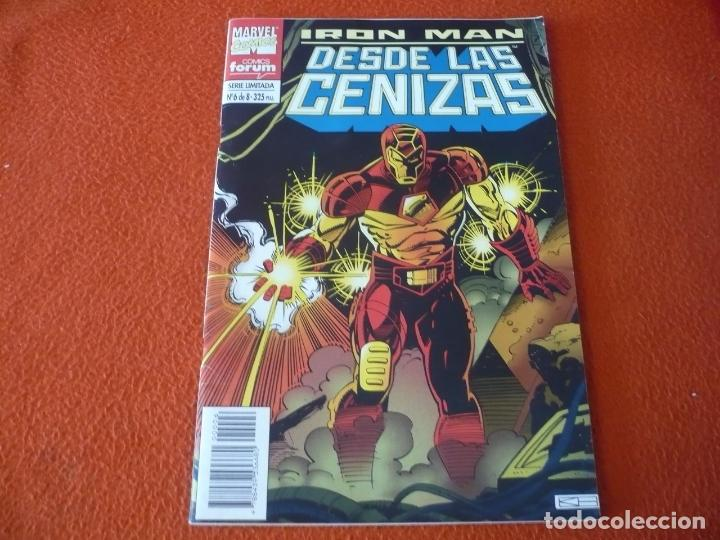 IRON MAN DESDE LAS CENIZAS Nº 6 ( KAMINSKI ) ¡BUEN ESTADO! FORUM MARVEL (Tebeos y Comics - Forum - Iron Man)