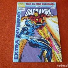 Cómics: DARKHAWK EXTRA INVIERNO 1993 ASALTO A LA CIUDAD DE LA ARMADURA 1ª PARTE ¡BUEN ESTADO! FORUM IRON MAN. Lote 223660993
