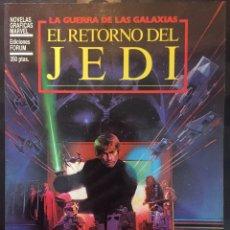 Cómics: COLECCIÓN NOVELAS GRÁFICAS MARVEL N.1 EL RETORNO DEL JEDI LA GUERRA DE LAS GALAXIAS ( 1983/1986 ).. Lote 262684530