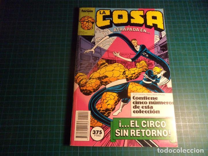 LA COSA. RETAPADO. CONTIENE LOS NUMEROS 6 AL 10. (S3) (Tebeos y Comics - Forum - Retapados)