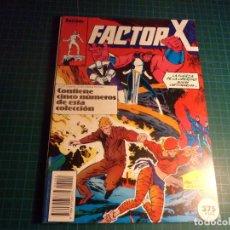 Comics : FACTOR X. RETAPADO. CONTIENE LOS NUMEROS 6 AL 10. (S4).. Lote 223731168