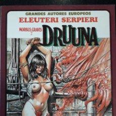 Cómics: COMIC TOUTAIN DRUUNA MORBUS GRAVIS 2 ELEUTERI SERPIERI. Lote 223775323