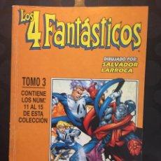 Comics : LOS 4 FANTÁSTICOS VOL.3 TOMO RETAPADO N.3 CONTIENE DEL 11 AL 15 HEROES RETURN ( 1998/2001 ). Lote 223779868