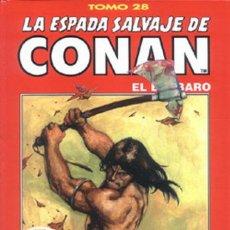 Cómics: LA ESPADA SALVAJE DE CONAN TOMO 28. Lote 223825523