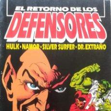 Cómics: EL RETORNO DE LOS DEFENSORES. Lote 223827147