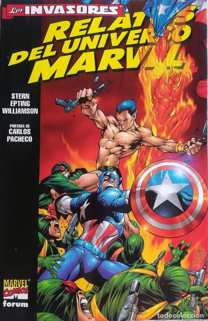 LOS INVASORES RELATOS DEL UNIVERSO MARVEL (Tebeos y Comics - Forum - Prestiges y Tomos)