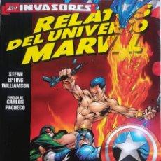 Cómics: LOS INVASORES RELATOS DEL UNIVERSO MARVEL. Lote 223828090