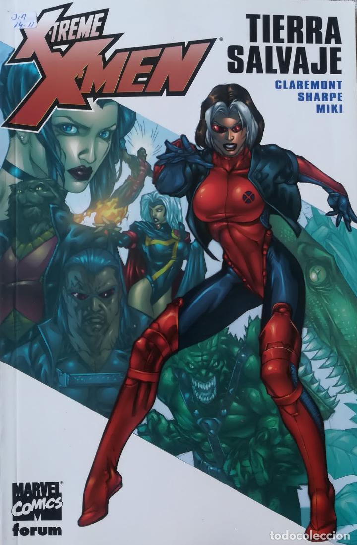 X TREME X MEN TIERRA SALVAJE (Tebeos y Comics - Forum - Prestiges y Tomos)