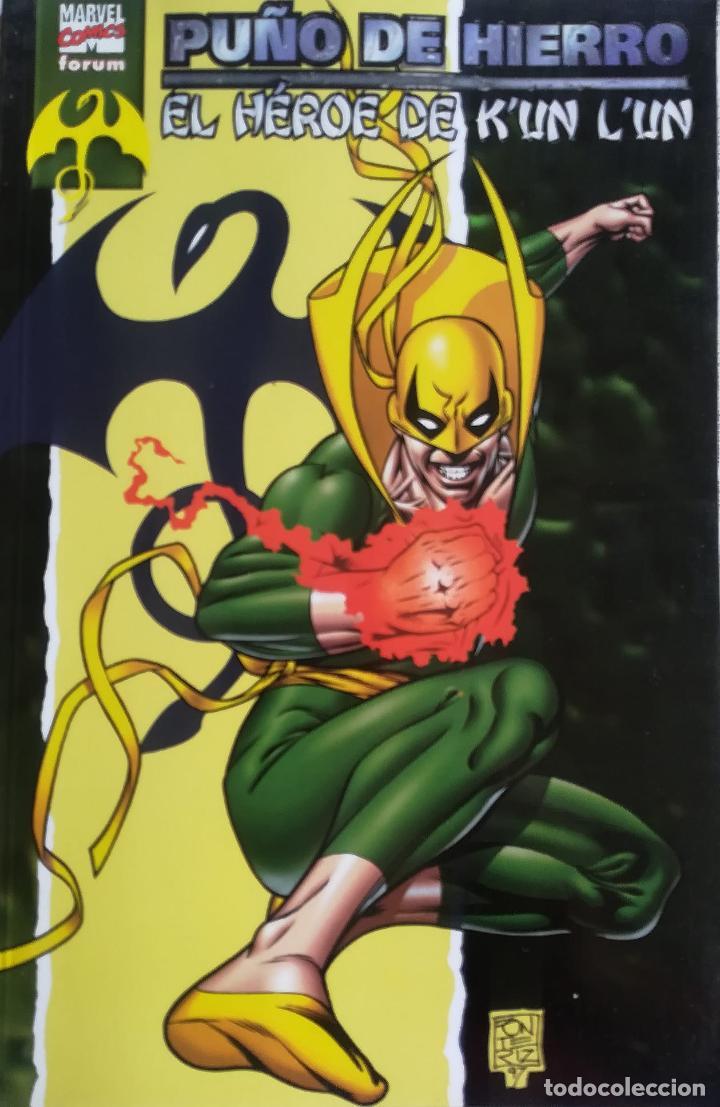 EL PUÑO DE HIERRO EL HEROE DE KUN LUN (Tebeos y Comics - Forum - Prestiges y Tomos)