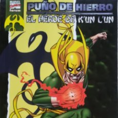 Cómics: EL PUÑO DE HIERRO EL HEROE DE KUN LUN. Lote 223850916