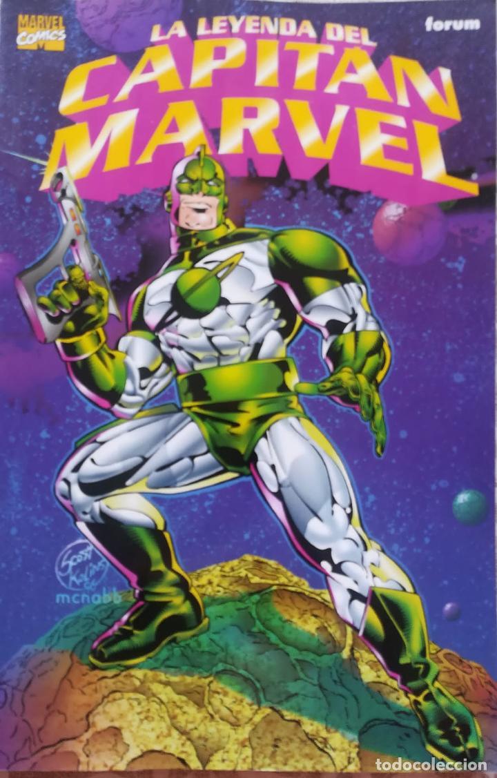 LA LEYENDA DEL CAPITAN MARVEL (Tebeos y Comics - Forum - Prestiges y Tomos)