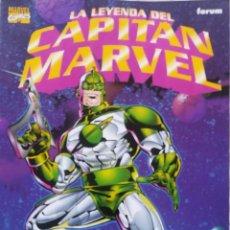 Cómics: LA LEYENDA DEL CAPITAN MARVEL. Lote 223851292
