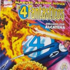 Cómics: LOS 4 FANTASTICOS DIBUJADO POR ALCATENA. Lote 223854125