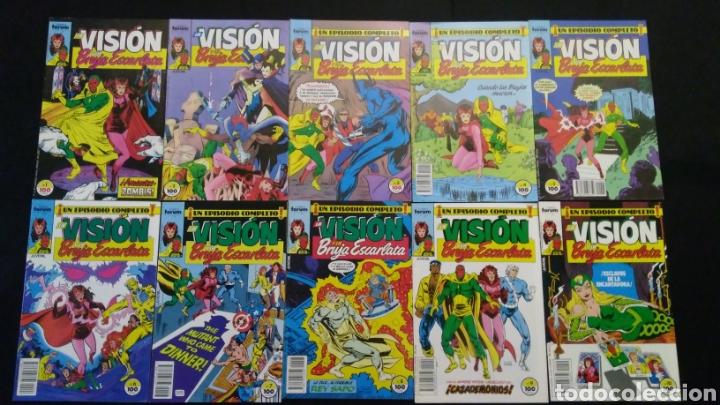 Cómics: Comics LA VISIÓN 14 Números 1988 - Foto 2 - 223981726