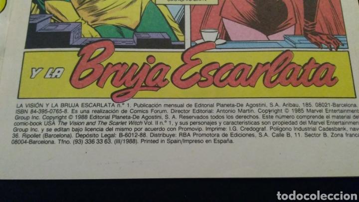 Cómics: Comics LA VISIÓN 14 Números 1988 - Foto 4 - 223981726
