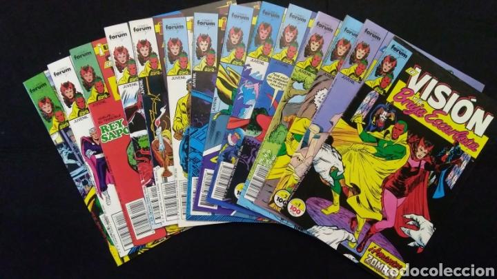 COMICS LA VISIÓN 14 NÚMEROS 1988 (Tebeos y Comics - Forum - Otros Forum)